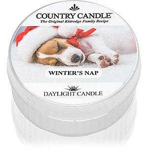 Country Candle Winter's Nap čajová svíčka 42 g obraz