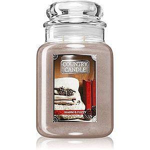 Country Candle Warm & Fuzzy vonná svíčka 680 g obraz