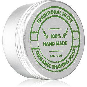 Golden Beards Organic Shaving Soap holicí mýdlo pro muže 60 g obraz