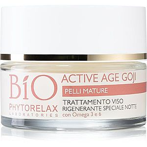 Phytorelax Laboratories Bio Active Age Goji noční krém s Anti-age efektem z bobulí Goji 50 ml obraz