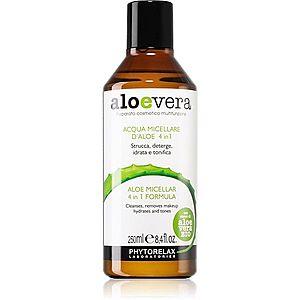 Phytorelax Laboratories Aloe Vera čisticí a odličovací micelární voda s aloe vera 250 ml obraz