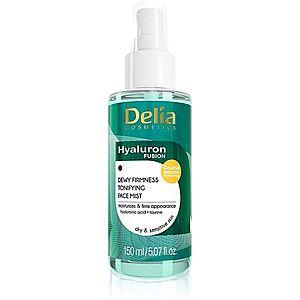Delia Cosmetics Hyaluron Fusion tonizační pleťová mlha se zpevňujícím účinkem 150 ml obraz