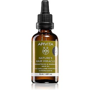 Apivita Holistic Hair Care Nature's Hair Miracle olej pro posílení vlasů 50 ml obraz