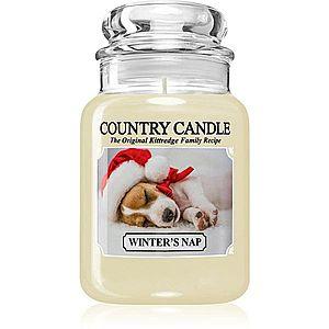 Country Candle Winter's Nap vonná svíčka 652 g obraz