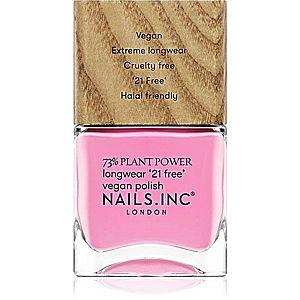 Nails Inc. Vegan Nail Polish dlouhotrvající lak na nehty odstín Detox On Repeat 14 ml obraz