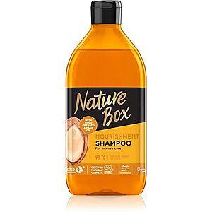 Nature Box Argan intenzivně vyživující šampon s arganovým olejem 385 ml obraz