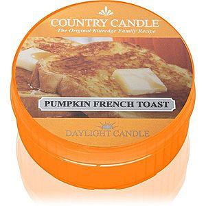 Country Candle Pumpkin & French Toast čajová svíčka 42 g obraz
