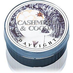 Kringle Candle Cashmere & Cocoa čajová svíčka 42 g obraz