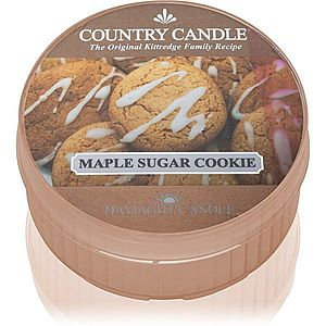 Country Candle Maple Sugar & Cookie čajová svíčka 42 g obraz