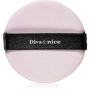 Diva & Nice Cosmetics Accessories houbička pro aplikaci make-upu 5 ks obraz