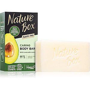 Nature Box Avocado čisticí tuhé mýdlo 100 g obraz