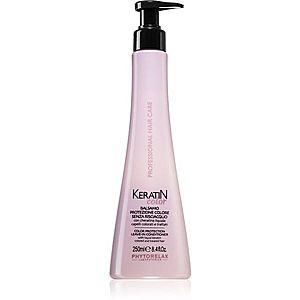 Phytorelax Laboratories Keratin Color bezoplachový kondicionér pro barvené vlasy 250 ml obraz