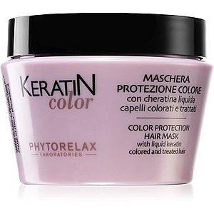 Phytorelax Laboratories Keratin Color maska na vlasy s keratinem 250 ml obraz