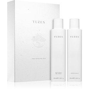 Yuzen Duo Daily Gentle Peel kosmetická sada (pro rozjasnění a vyhlazení pleti) obraz