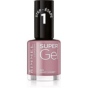 Rimmel Super Gel Step 1 gelový lak na nehty bez užití UV/LED lampy obraz