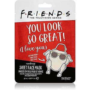 Mad Beauty Friends Turkey antioxidační plátýnková maska 25 ml obraz
