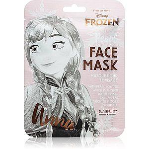 Mad Beauty Frozen Anna rozjasňující plátýnková maska 1 ks obraz