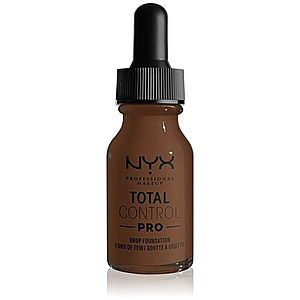 NYX Professional Makeup Total Control Pro Drop Foundation make-up odstín 22 - Deep 13 ml obraz