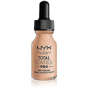 NYX Professional Makeup Total Control Pro Drop Foundation make-up odstín 5 - Light 13 ml obraz