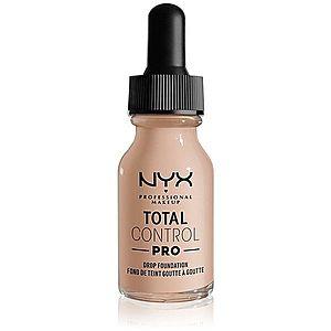 NYX Professional Makeup Total Control Pro Drop Foundation make-up odstín 3 - Porcelain 13 ml obraz