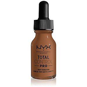 NYX Professional Makeup Total Control Pro Drop Foundation make-up odstín 17 - Cappuccino 13 ml obraz