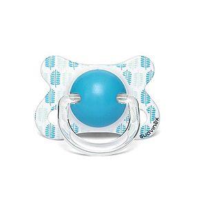 Suavinex Fusion Šidítko silikon 2-4m 1 ks modrý páv obraz