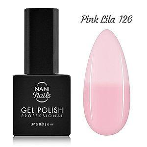 NANI termo gel lak 6 ml - Pink Lila obraz