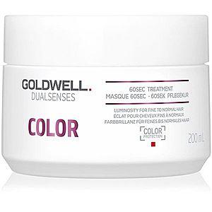 Goldwell Dualsenses Color regenerační maska pro normální až jemné barvené vlasy 200 ml obraz