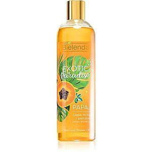 Bielenda Exotic Paradise Papaya sprchový a koupelový gelový olej 400 ml obraz