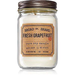 KOBO Broad St. Brand Fresh Grapefruit vonná svíčka (Apothecary) 360 g obraz