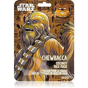 Mad Beauty Star Wars Chewbacca hydratační plátýnková maska s kokosovým olejem 25 ml obraz