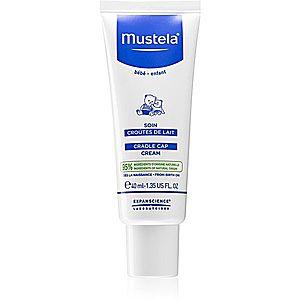 Mustela Bébé krém pro děti na šupiny ve vlasech 40 ml obraz