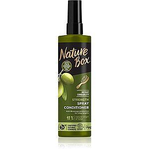 Nature Box Olive Oil posilující balzám pro dlouhé vlasy 200 ml obraz