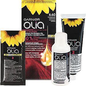 Garnier Olia barva na vlasy odstín 6.60 Intense Red obraz