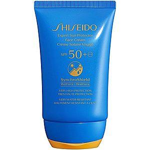 Shiseido Sun Care Expert Sun Protector Face Cream voděodolný opalovací krém na obličej SPF 50+ 50 ml obraz