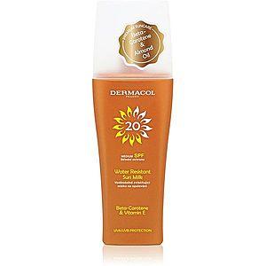Dermacol Sun Water Resistant voděodolné mléko na opalování se střední UV ochranou SPF 20 200 ml obraz