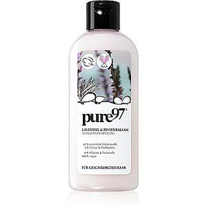 pure97 Lavendel & Pinienbalsam obnovující kondicionér pro poškozené vlasy 200 ml obraz