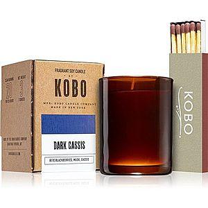 KOBO Woodblock Dark Cassis votivní svíčka 85 g obraz