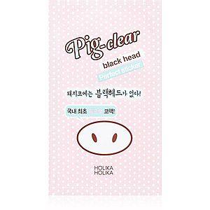 Holika Holika Pig Nose Perfect sticker čisticí náplast na zanešené póry na nose obraz