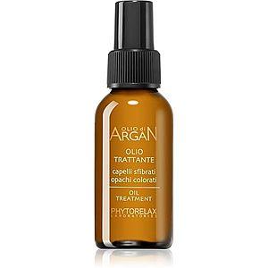 Phytorelax Laboratories Olio Di Argan regenerační olej na vlasy s arganovým olejem 60 ml obraz