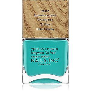 Nails Inc. Vegan Nail Polish dlouhotrvající lak na nehty odstín Just Avoca-do it 14 ml obraz