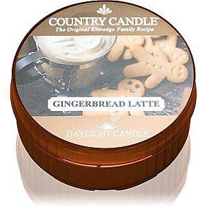 Country Candle Gingerbread Latte čajová svíčka 42 g obraz