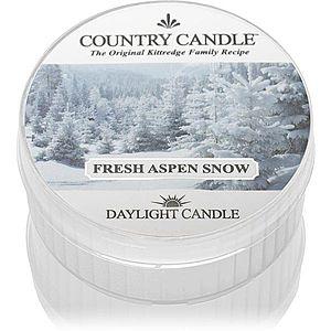 Country Candle Fresh Aspen Snow čajová svíčka 42 g obraz