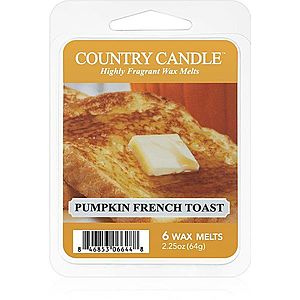 Country Candle Pumpkin & French Toast vosk do aromalampy 64 g obraz