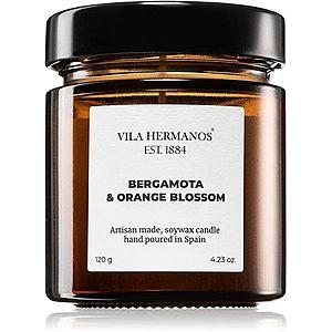 Vila Hermanos Apothecary Bergamot & Orange Blossom vonná svíčka 120 g obraz