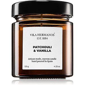 Vila Hermanos Apothecary Patchouli & Vanilla vonná svíčka 120 g obraz