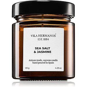 Vila Hermanos Apothecary Sea Salt & Jasmine vonná svíčka 120 g obraz