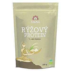 Iswari BIO Rýžový protein 80% prášek 250 g obraz