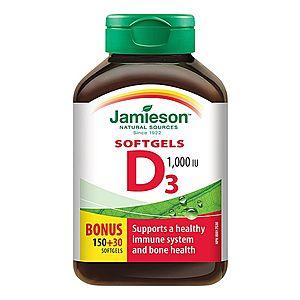 Vitamin D3 Kapsle - 180Kapsle obraz