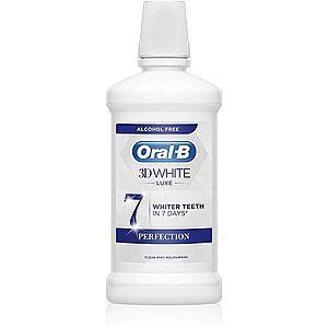 Oral B 3D White Luxe ústní voda s bělicím účinkem 500 ml obraz